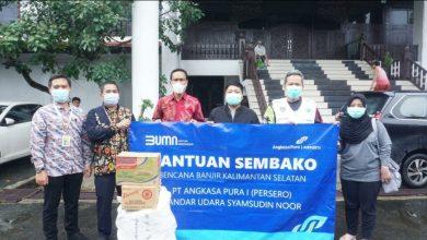 Photo of Angkasa Pura I Salurkan Bantuan Korban Banjir Banjar dan Manado