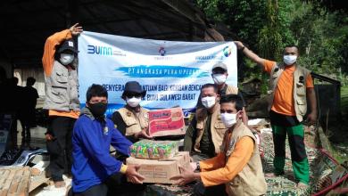 Photo of Relawan AP II Distribusikan Bantuan Bagi Korban Bencana Alam Kalsel dan Sulbar